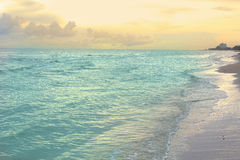 Beach and tropical sea Royalty Free Stock Image
