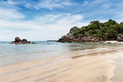 Beach and tropical sea Stock Photography