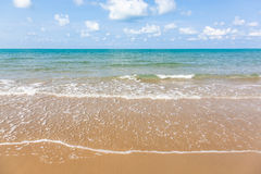 The beach and tropical sea Royalty Free Stock Photos