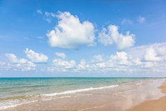 The beach and tropical sea Royalty Free Stock Images