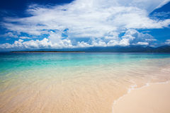 Beach and tropical sea Royalty Free Stock Images