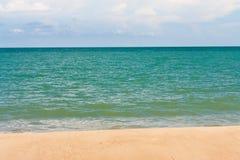 Beach and tropical sea Stock Image