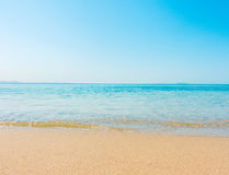 Beach and tropical sea soft wave Stock Photo