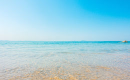 Beach and tropical sea soft wave Royalty Free Stock Images