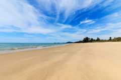 Beach and tropical sea. Of thailand the andaman coast Royalty Free Stock Images
