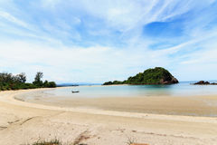 Beach and tropical sea. Of thailand the andaman coast Stock Image