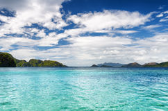 Tropical seashore. Palawan province, Philippines Stock Photo