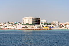 Beach in Tunisia Royalty Free Stock Photo