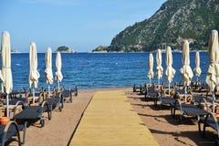 Beach in Turkey Stock Photos