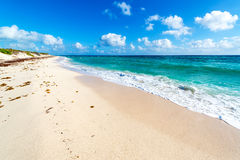 Beach and Turquoise Water Royalty Free Stock Photo