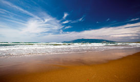 Beach in Tuscany Stock Photo