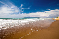 Beach in Tuscany Stock Photos