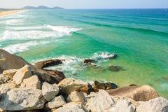 Beach. At Tuy Hoa city, Phu Yen province, Vietnam Stock Photo