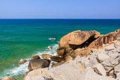 Beach. At Tuy Hoa city, Phu Yen province, Vietnam Stock Photography