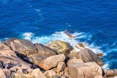 Beach. At Tuy Hoa city, Phu Yen province, Vietnam Royalty Free Stock Photos