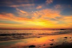 Beach twilight Stock Image