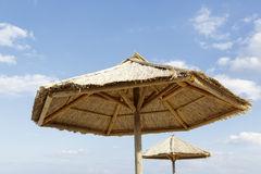 Beach umbrela Royalty Free Stock Photo
