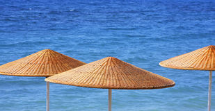 Beach Umbrelas Stock Photos