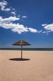 Beach umbrella Royalty Free Stock Photo