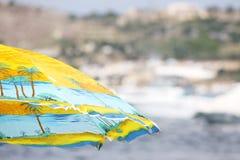 Beach umbrella Stock Photo