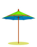 Beach umbrella Royalty Free Stock Photo