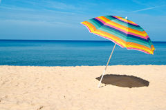Beach Umbrella stock photography