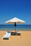 Beach umbrella Stock Photos
