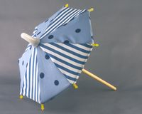Beach Umbrella. A small parasol or umbrella, as for the beach royalty free stock photography