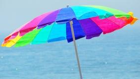 Beach umbrella. Royalty Free Stock Images