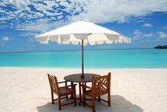Beach umbrella Stock Image