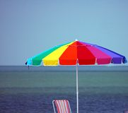 Beach Umbrella Stock Images