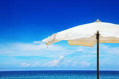 Beach umbrella Royalty Free Stock Photos