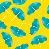 Beach umbrella background Royalty Free Stock Images