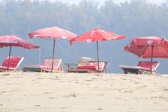 Beach, Umbrella, Body Of Water, Vacation royalty free stock photography