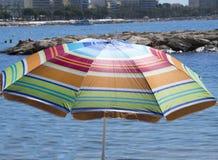 Beach umbrella Stock Photos