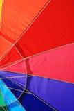 Beach umbrella detail Stock Images