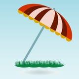 Beach umbrella. Stock Images