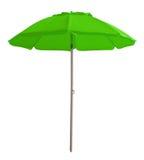 Beach umbrella - green Stock Photo
