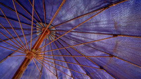 Beach umbrella. Beach umbrella at HuaHin of Thailand Stock Photos