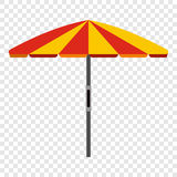 Beach umbrella icon Stock Images