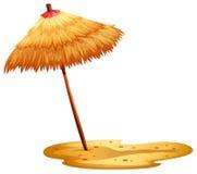 A beach umbrella Royalty Free Stock Image