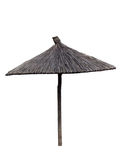 Beach umbrella isolated Royalty Free Stock Image