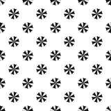 Beach umbrella pattern, simple style Royalty Free Stock Photo