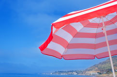 Beach umbrella's background Royalty Free Stock Photography