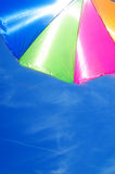 Beach umbrella's background Royalty Free Stock Photos