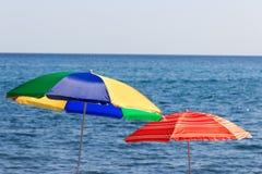 Beach umbrella Royalty Free Stock Image