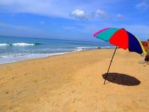 Beach umbrella. Royalty Free Stock Image