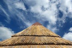 Beach umbrella (sunshade) Stock Photo