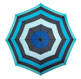 Beach umbrella - top view Royalty Free Stock Images