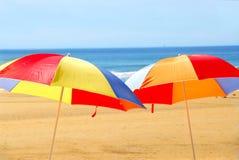 Free Beach Umbrellas Royalty Free Stock Photo - 1642985